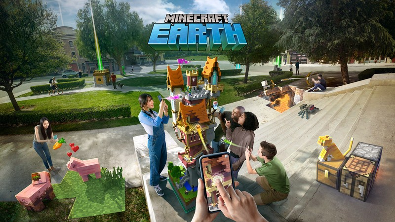 Minecraft Earth Is Ending In June After Less Than Two Years