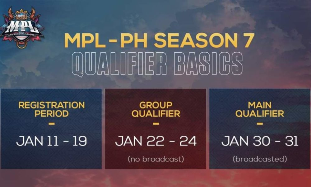 MPL-PH Season 7 qualifiers announced; your chance to become an MLBB professional