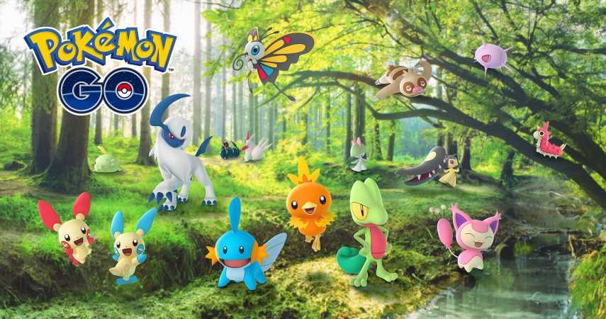 Pokemon Go How To Complete The Hoenn Collection Challenge