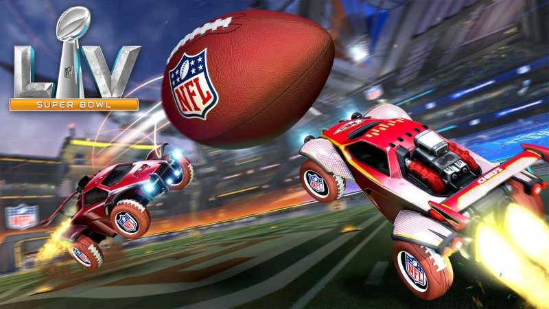 Play Superbowl LV In Rocket League's Upcoming Gridiron Mode