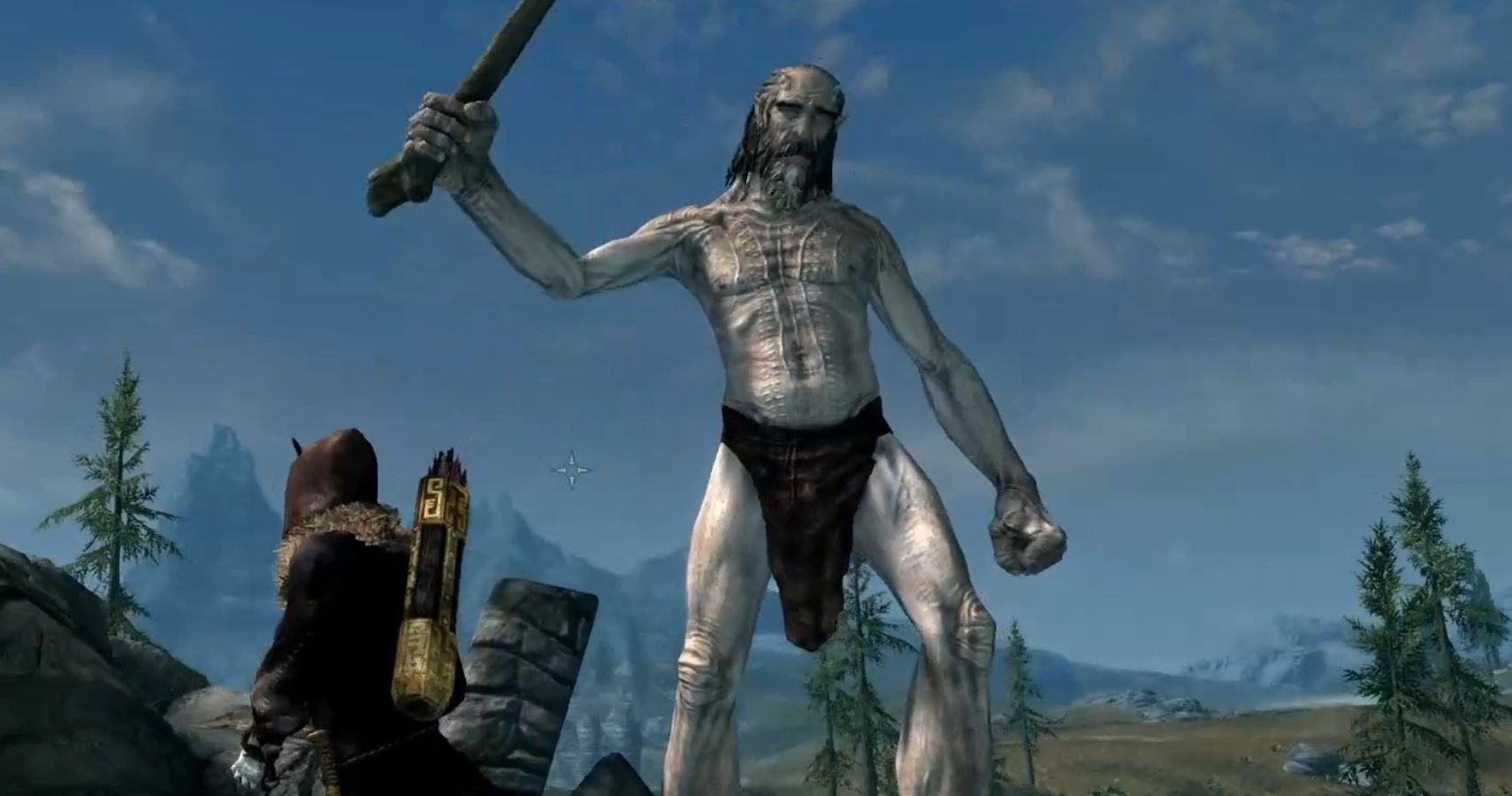Someone Made Skyrim's Giants Five Times Bigger