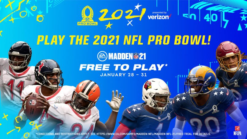 Celebrity Players Announced for Pro Bowl: The Madden NFL 21 Edition