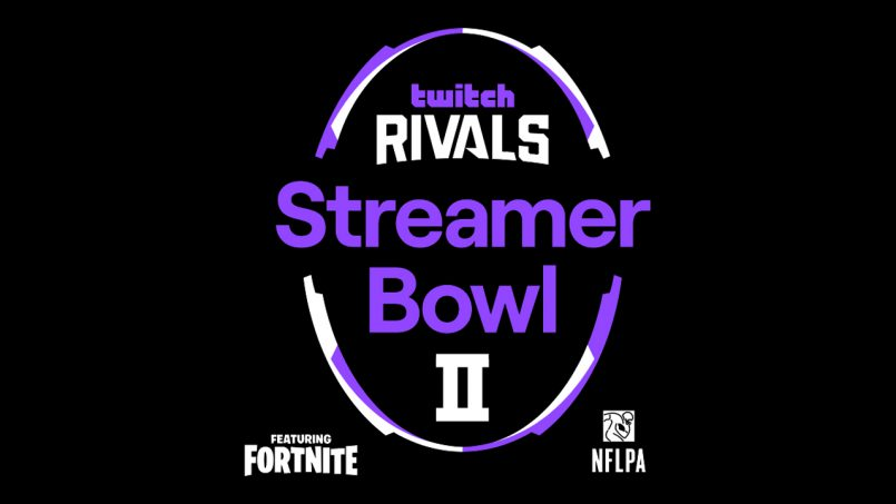 Thirty All-Star Teams Selected for Twitch Rivals Streamer Bowl II Featuring Fortnite, $1M for Charity at Play