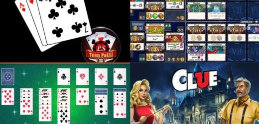 Top 5 of the Most Popular Card Game Apps During 2020