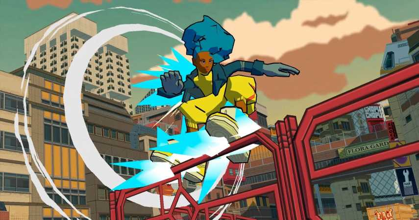 Bomb Rush Cyberfunk, Spiritual Successor To Jet Set Radio, Coming In 2022