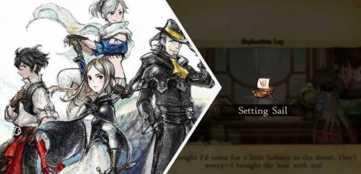 Bravely Default 2: Guide To Boat Exploration
