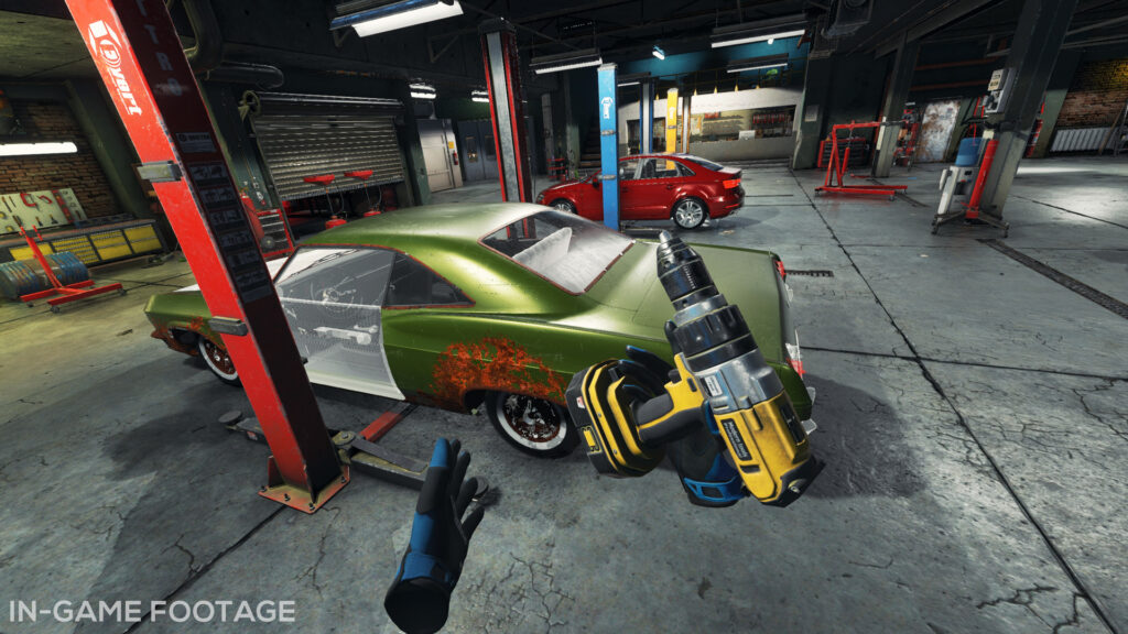 Pop the Hood With Car Mechanic Simulator VR in Q2 2021