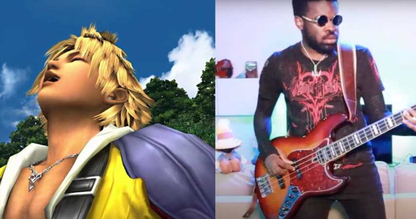 Music Producer Turns Tidus' Laugh From Final Fantasy Into A Funky Song