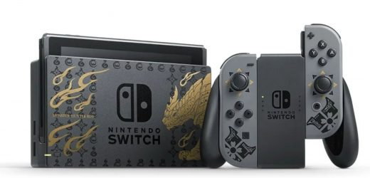 The Monster Hunter Rise Switch Console Is Coming To The US