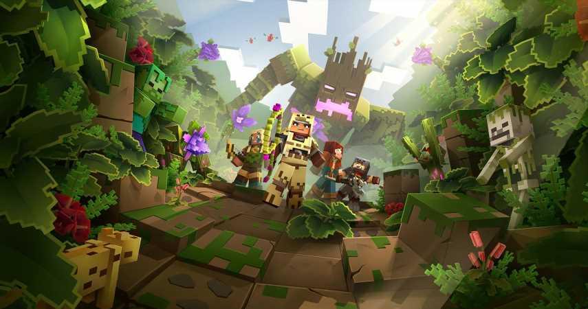 Minecraft Dungeons Hits 10 Million Player Milestone