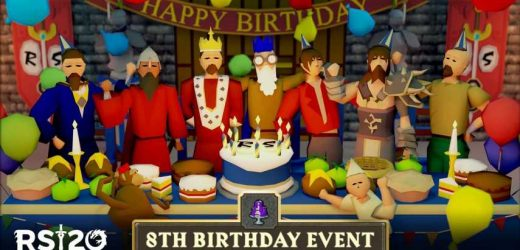 Apes Take Over Lumbridge For Old School RuneScape's Eighth Birthday Celebration