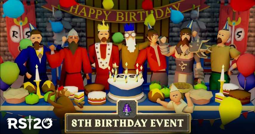 Apes Take Over Lumbridge For Old School RuneScape's Eighth Birthday Celebration