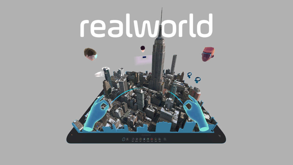 Realworld to Bring the Planet to Your Fingertips on Oculus Quest