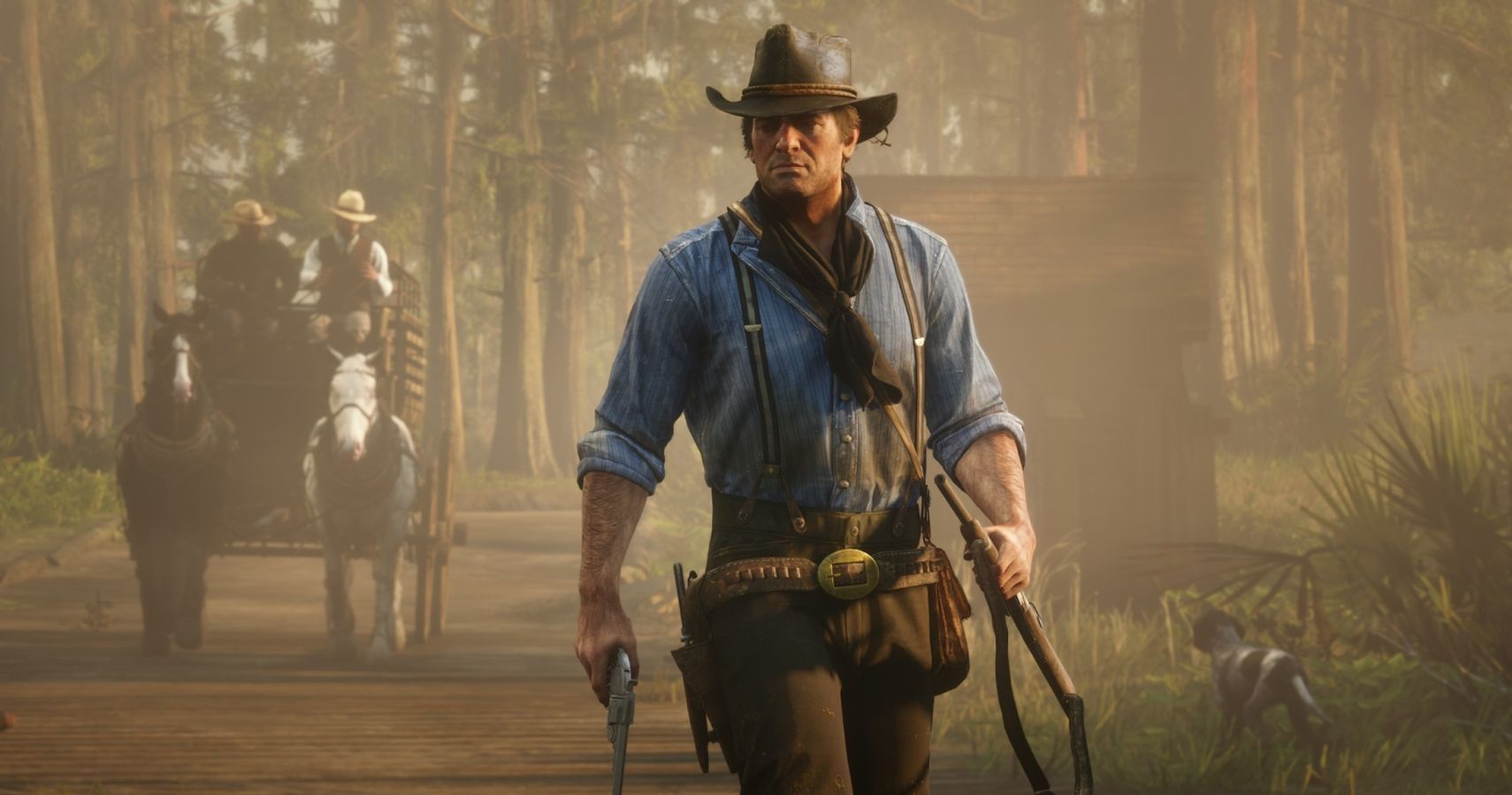 Red Dead Redemption 2's AI Even Corrects Itself When It Messes Up A Scripted Scene