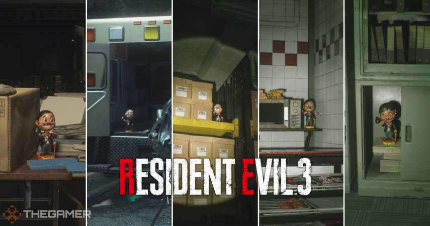 Resident Evil 3: Where To Find Every Charlie Doll