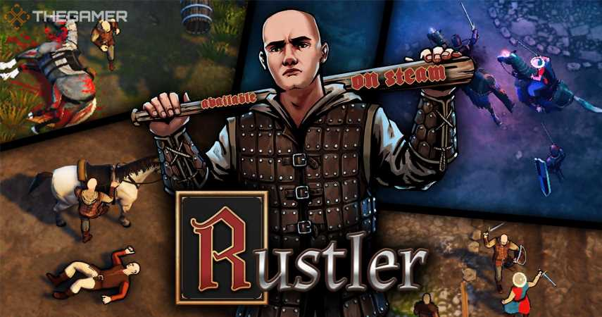 """Medieval GTA"" Rustler Is Out Now In Early Access"