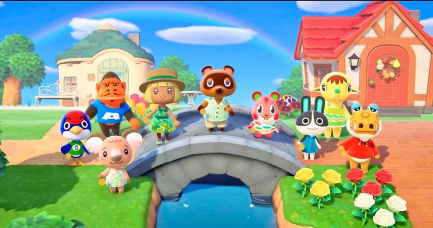 Animal Crossings: New Horizons Still Number One On UK Boxed Charts