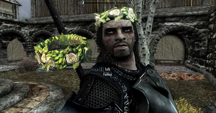 Skyrim: How To Get A Flower Crown