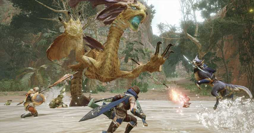 New Monster Hunter Rise Trailer Shows Off A Complete Somnacanth Battle