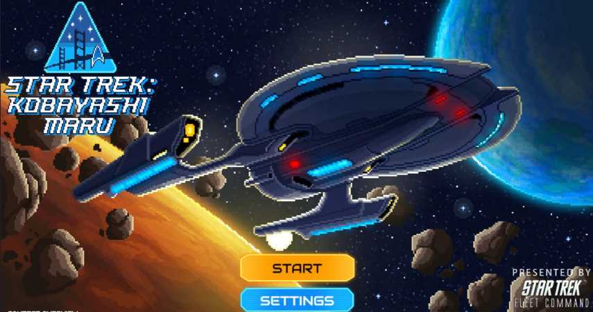 Beat Star Trek's Kobayashi Maru Simulation And Win Fantastic Prizes