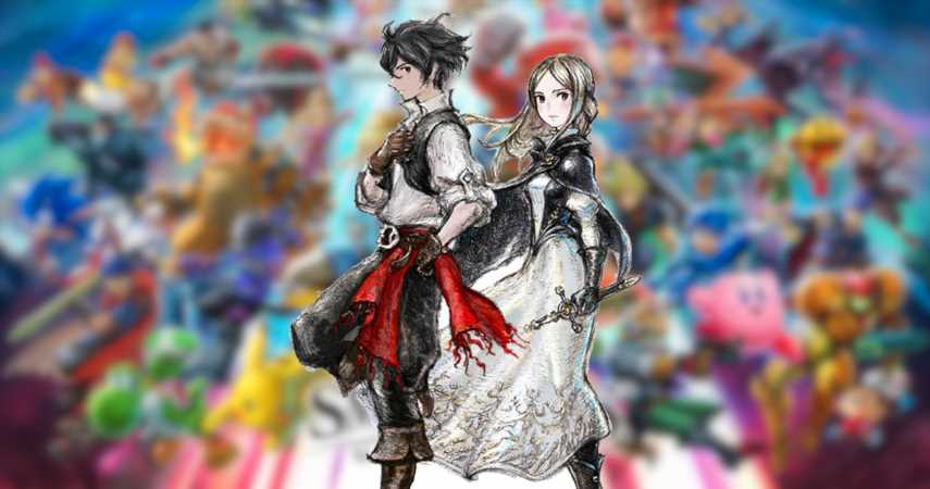 Bravely Default 2 Spirits Grace Super Smash Bros. Ultimate