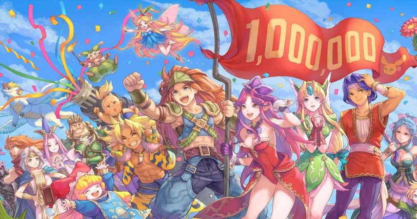Trials of Mana Has Shipped Over A Million Copies