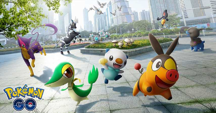 Pokemon Go: All Unova Stone Evolutions