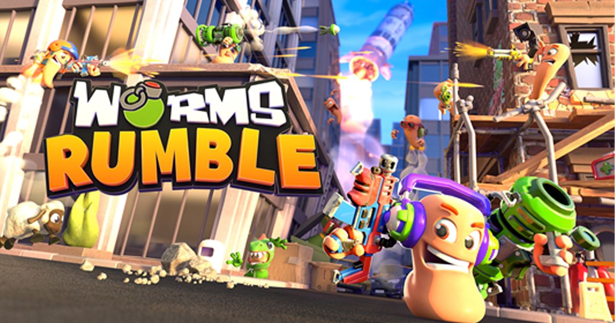 Worms Rumble Is Free On Steam This Weekend, Bazooka Bowl Community Event Blasts Off Next Week