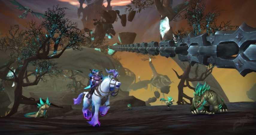 BlizzConline's WoW: Shadowlands Announcements Leak Ahead Of Schedule