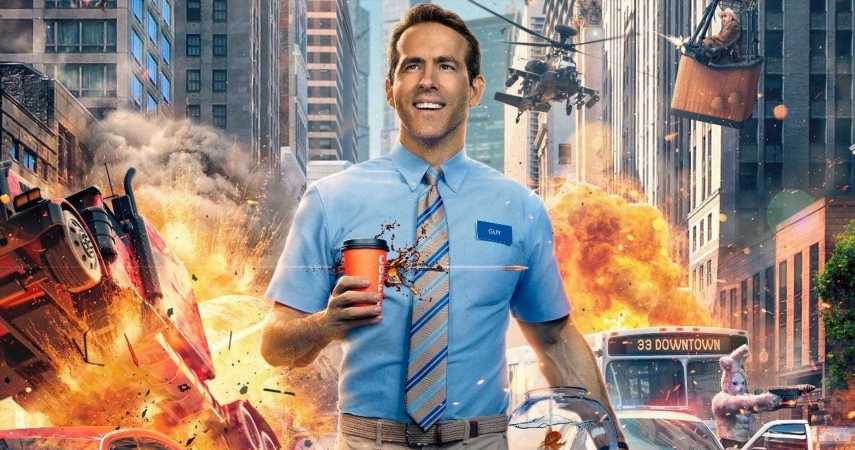 Free Guy, A Movie Where Ryan Reynolds Realizes He's Living In An Open-World Game, Delayed To May