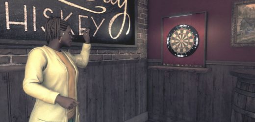 I can't stop playing darts in Watch Dogs: Legion