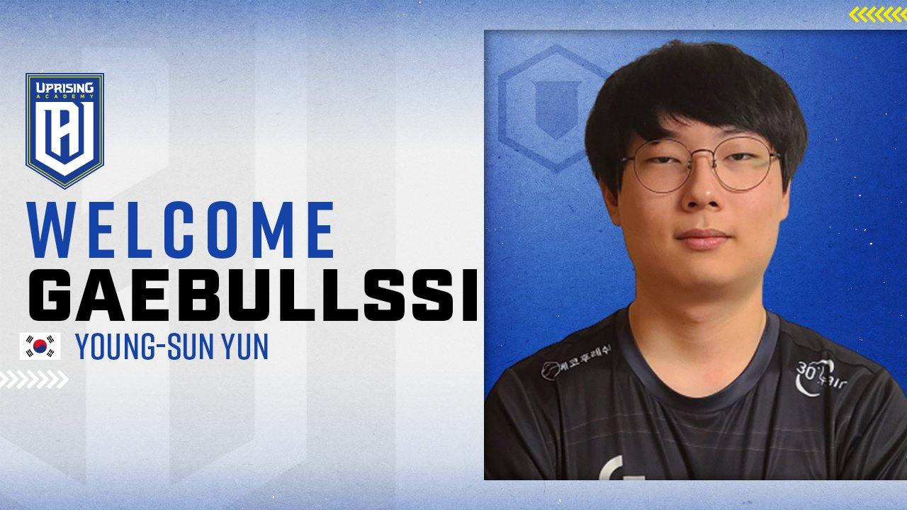 GaeBullSsi joins Uprising Academy, seeks joining Overwatch League