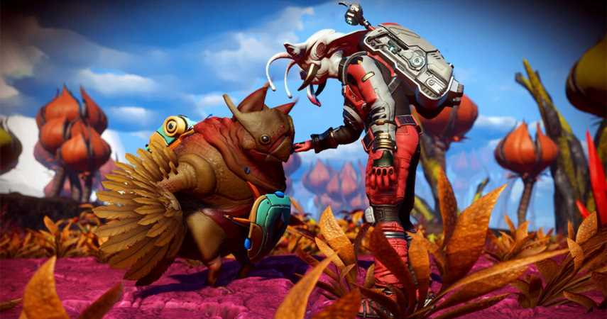 No Man's Sky: Companions Update Is Basically Pokemon – Breed, Trade, And Raise Creature