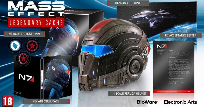 Mass Effect: Legendary Edition Special Cache Sweepstakes!
