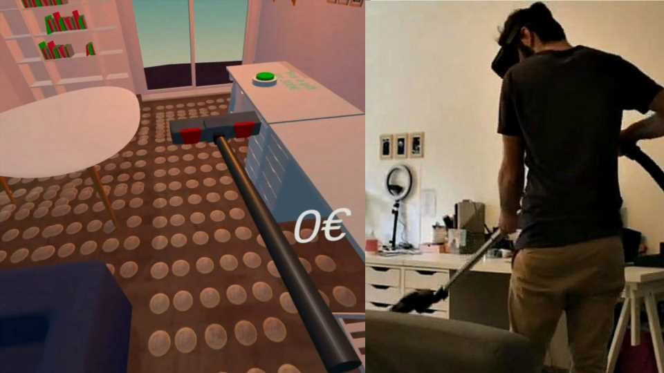 This Developer's VR Vacuuming Game Gives a Peek into the Future of Gamified Chores – Road to VR