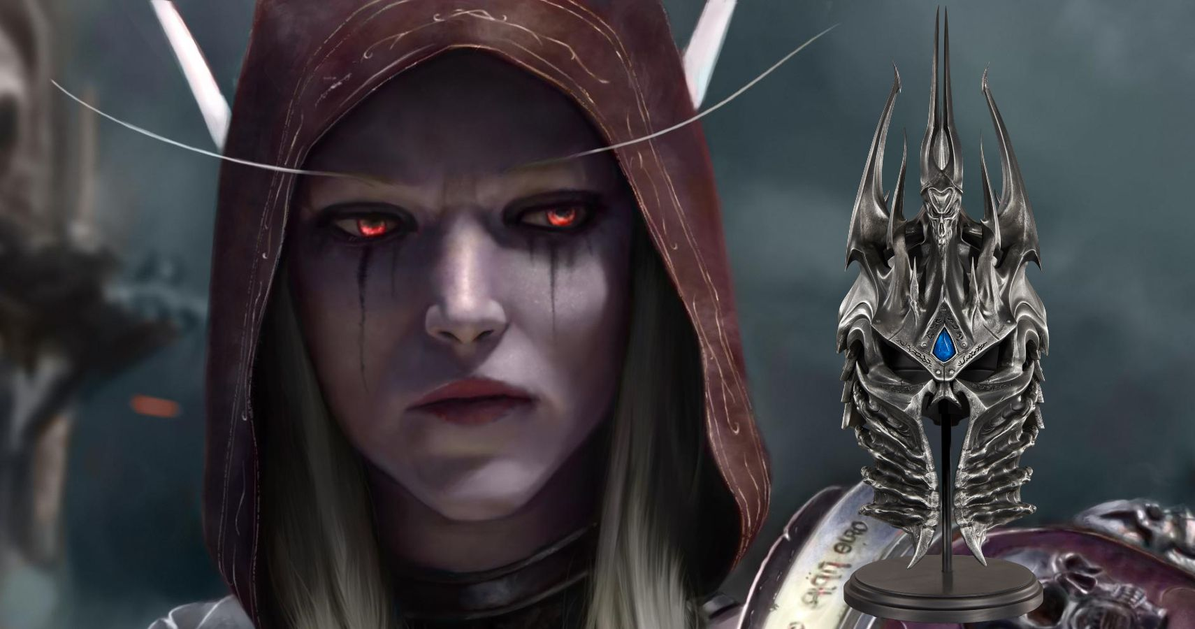Blizzard Reveals Gear Store Exclusive Lich King Helm Replica