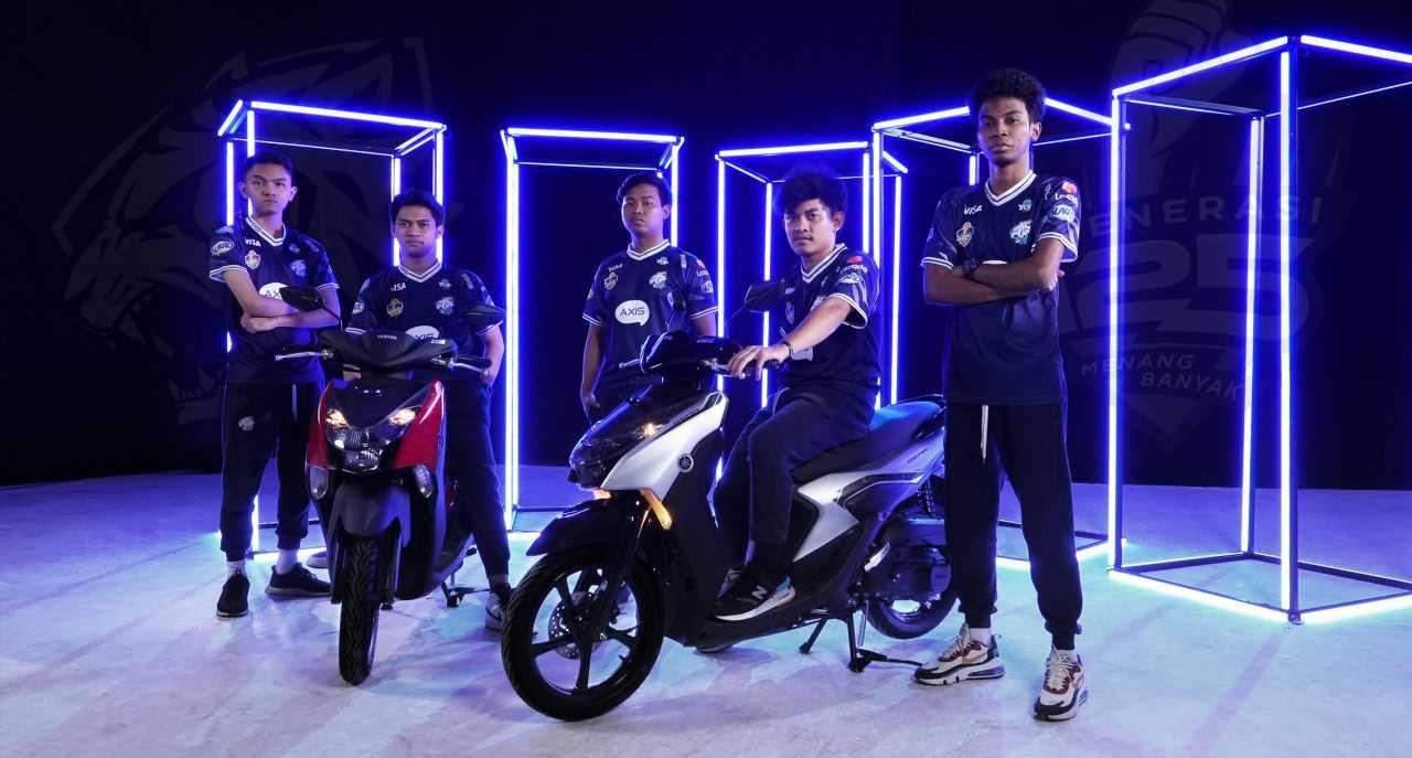 EVOS Esports Signs Yamaha Sponsorship Deal, Helps Promote Generation 125 Line of Bikes