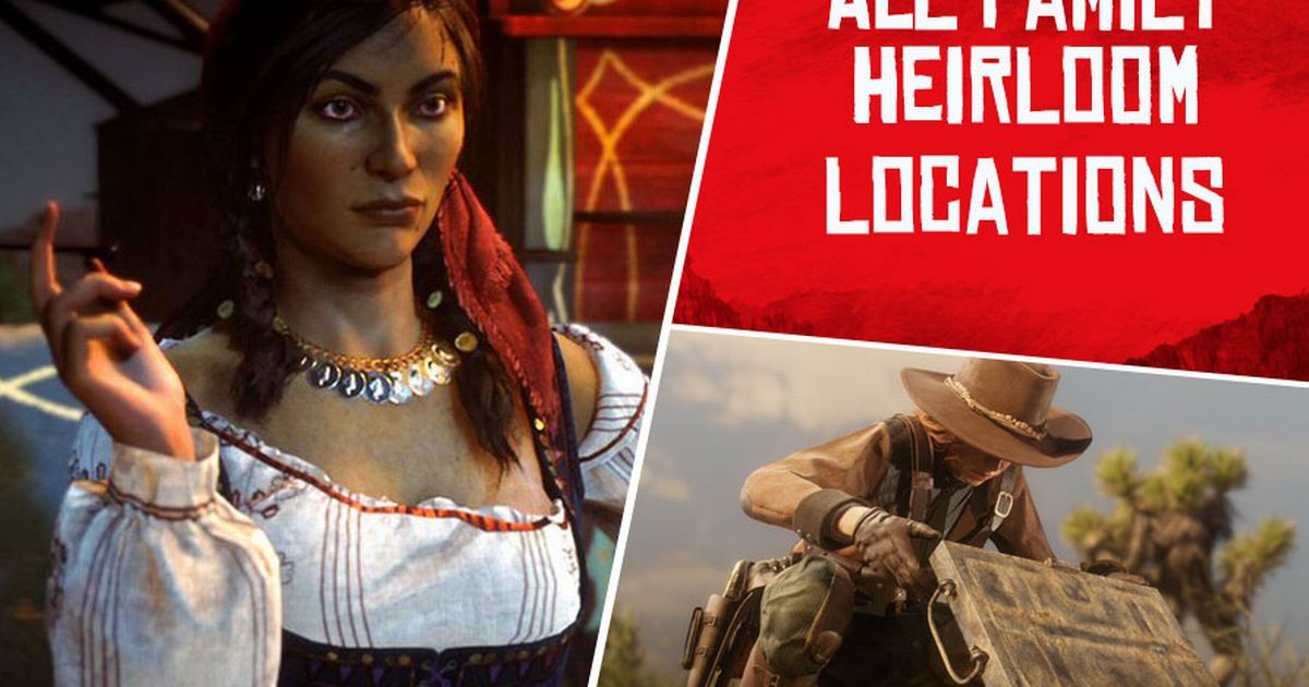 Red Dead Online Family Heirloom Map Locations: Madam Nazar Collectors Guide