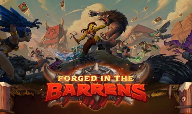 Hearthstone Forged in the Barrens final card reveal date confirmed before release