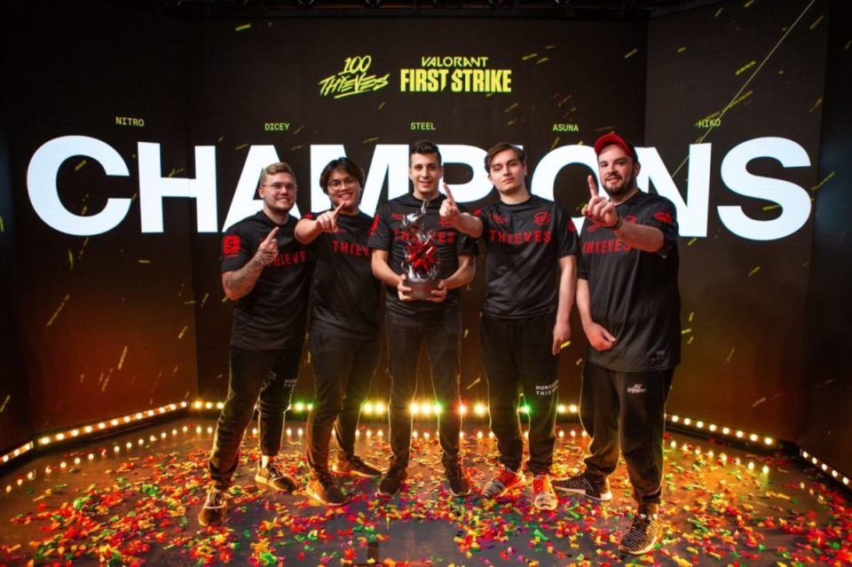 100 Thieves defeat Gen.G, advancing to VCT lower bracket final