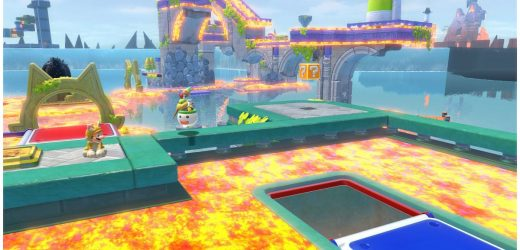 This Bowser's Fury mod makes the floor lava