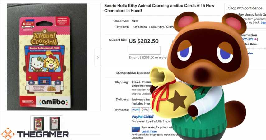 Hello Kitty Animal Crossing Cards Are Here… And Scalpers Got Them