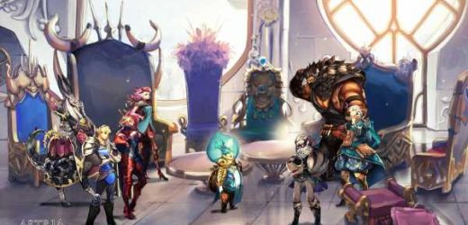 Astria Ascending is a new RPG made by an indie team with help from Final Fantasy veterans