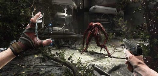 """In Atomic Heart You Play As KGB Agent """"P-3"""" With A Polymer Glove"""