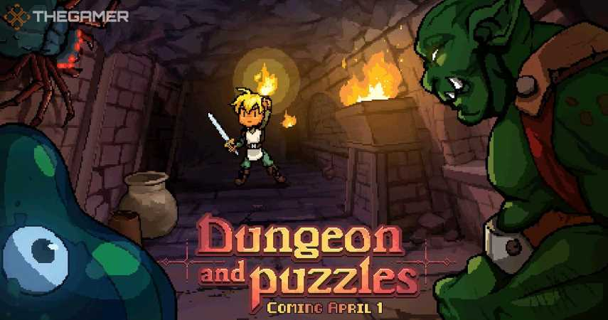Dungeon And Puzzles Arrives Switch On April 1