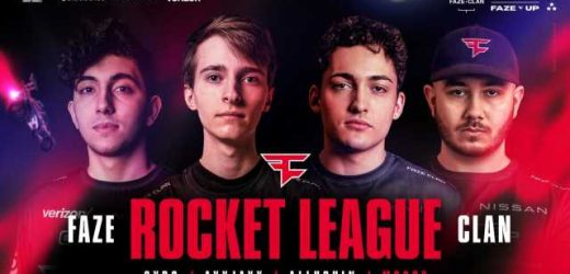 FaZe Clan have signed Rocket League team The Peeps
