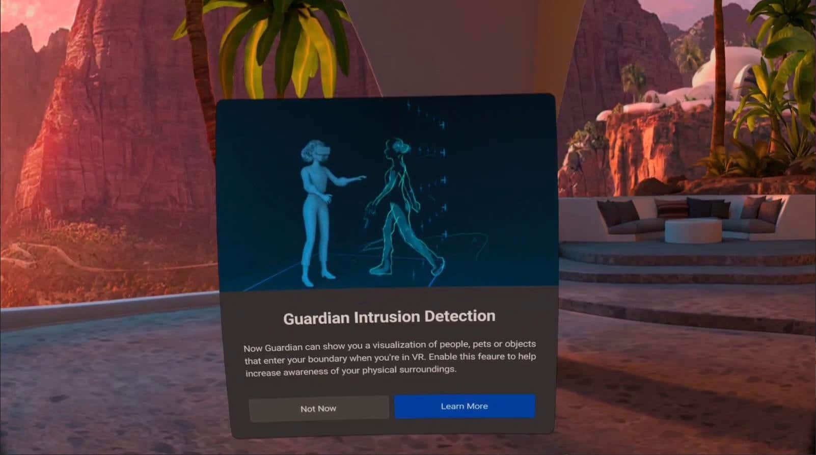 'Guardian Intrusion Detection' Coming To Oculus Quest?