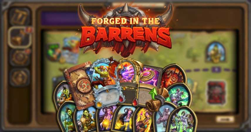 Hearthstone Reveals The Forged In The Barrens Rewards Track And All New Diamond Rarity Cards
