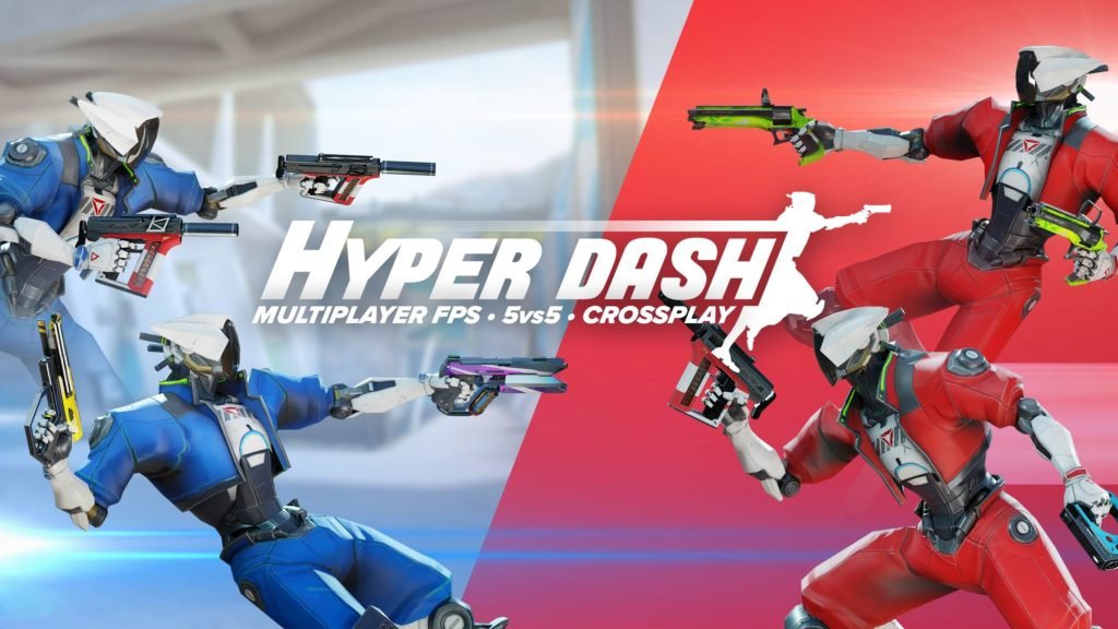Hyper Dash Review: Dynamic And Intense VR Shooter