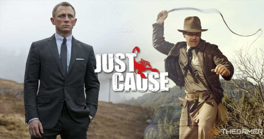 Upcoming Just Cause Movie Is Inspired By Indiana Jones And James Bond